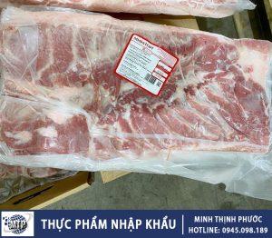 Thịt Ba Chỉ Heo Đông Lạnh
