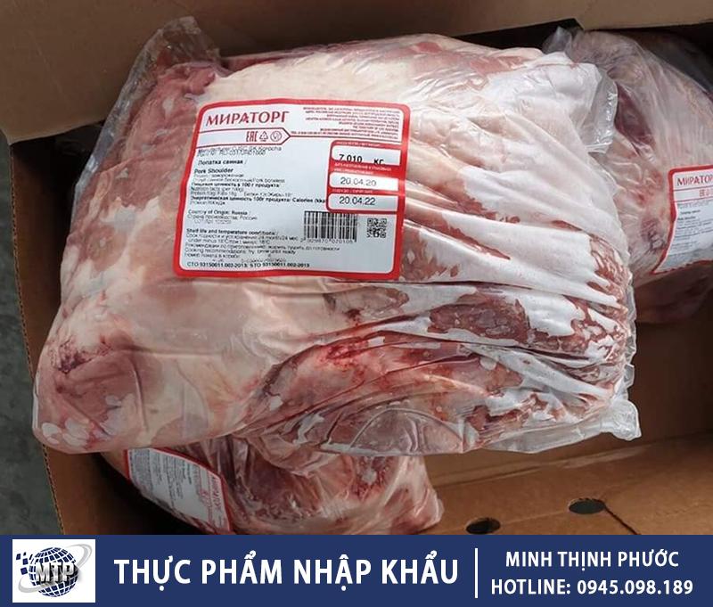 Thịt Lợn Nhập Khẩu Đảm Bảo Chất Lượng