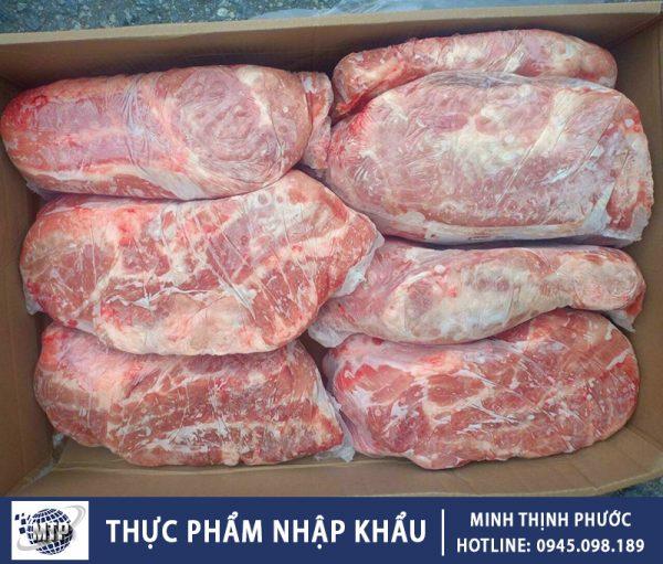 Thịt Nạc Dăm Đông Lạnh