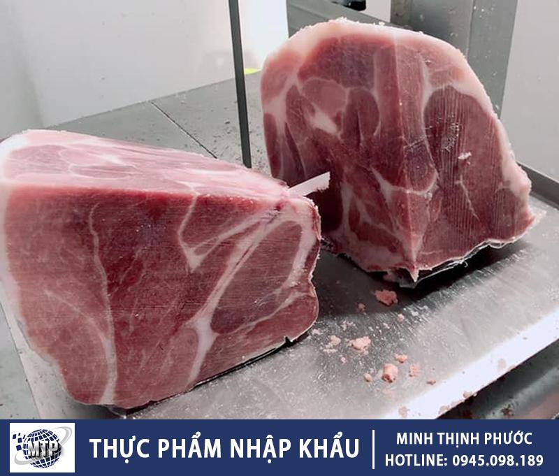 Thịt Vai Heo Nhập Khẩu